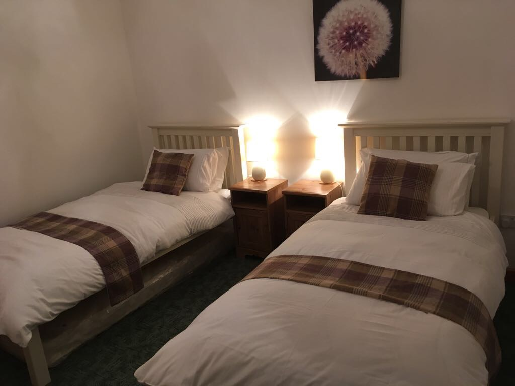 One of our comfy bedrooms